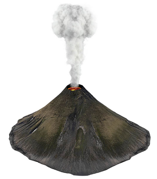 El Volcán Tungurahua
